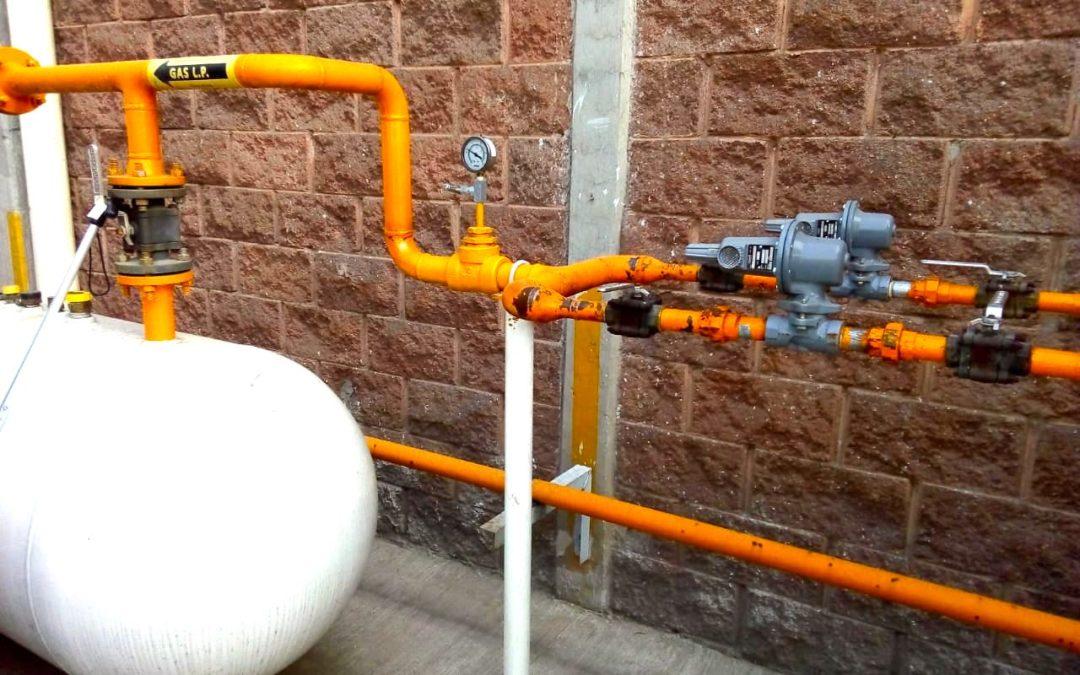Instalacion de P al P y de cobre en Naucalpan para Gas LP