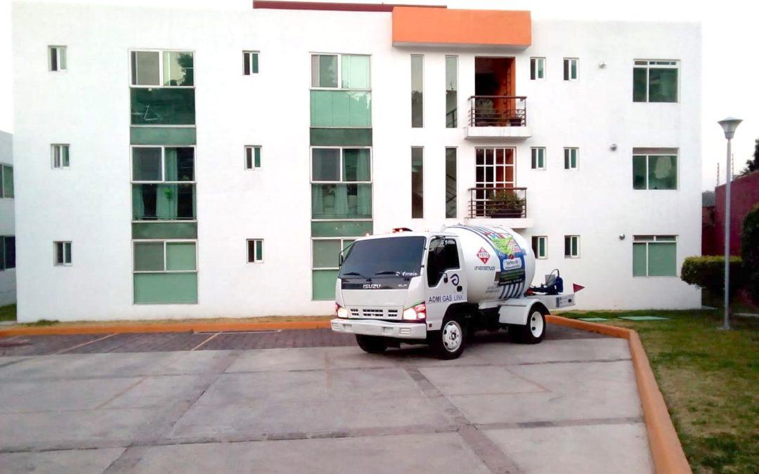 Pipas Naucalpan para el servicio de Gas LP a domicilio