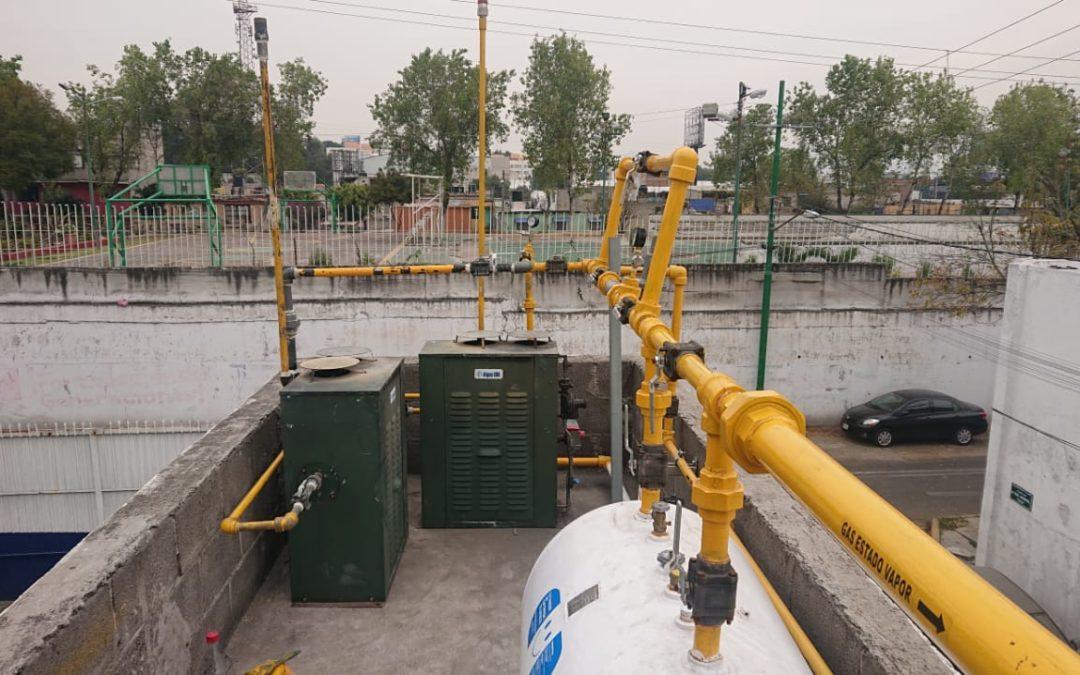 Reparacion y mantenimiento de tanques estacionarios con GasLink