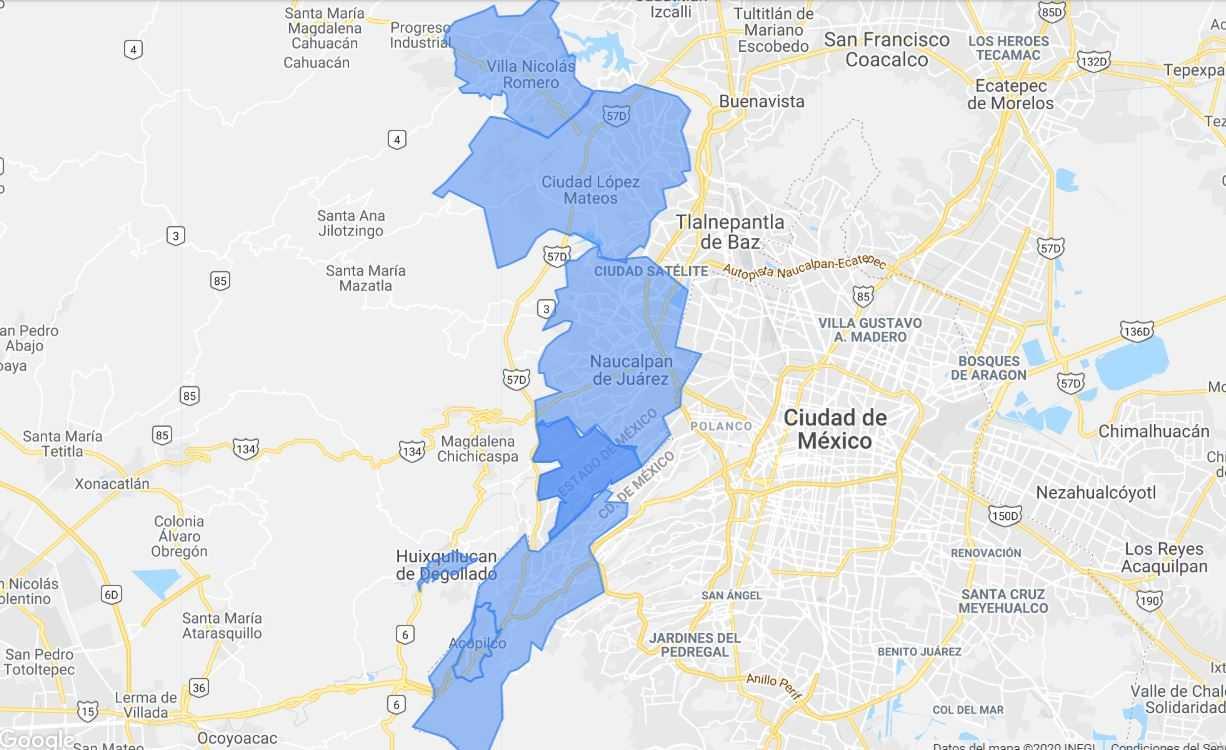 gas lp a domicilio Gas lp a domicilio – Mexico mapa gaslink 1