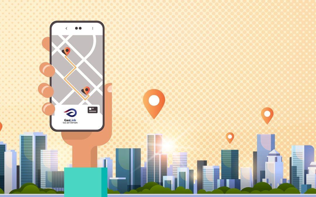 App de pedidos gas a domicilio con GasLink