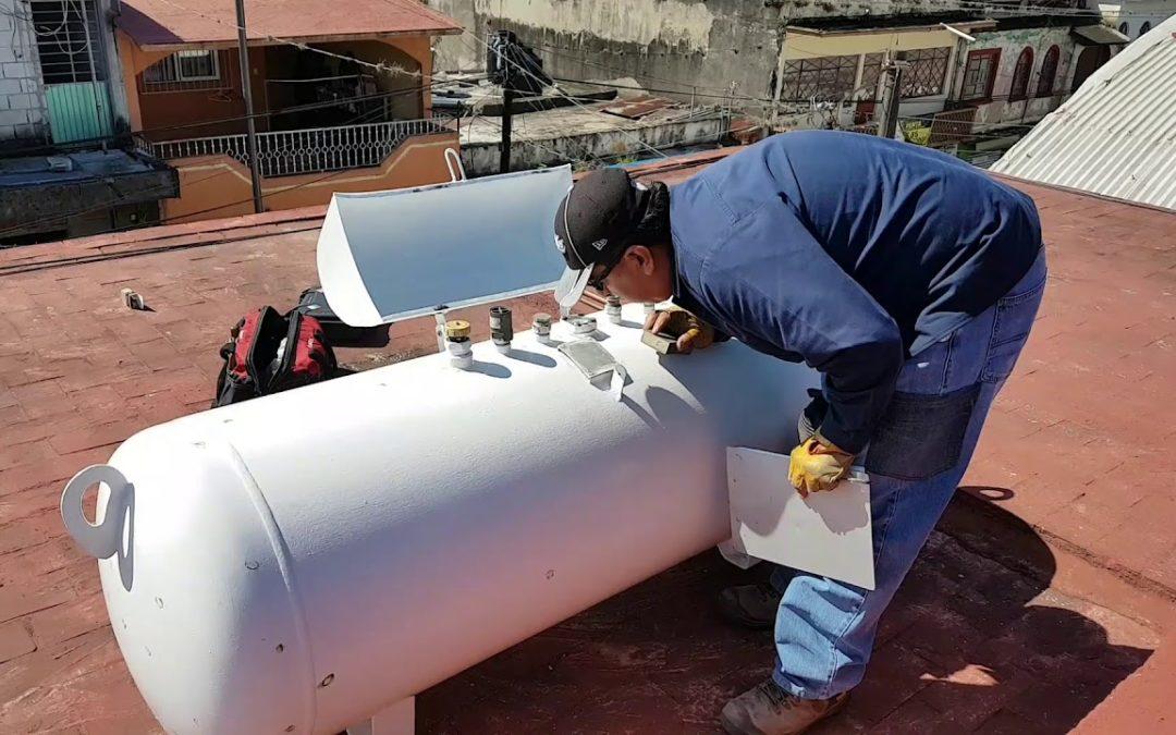 Gas estacionario es practico para el rendimiento en hogares y negocios