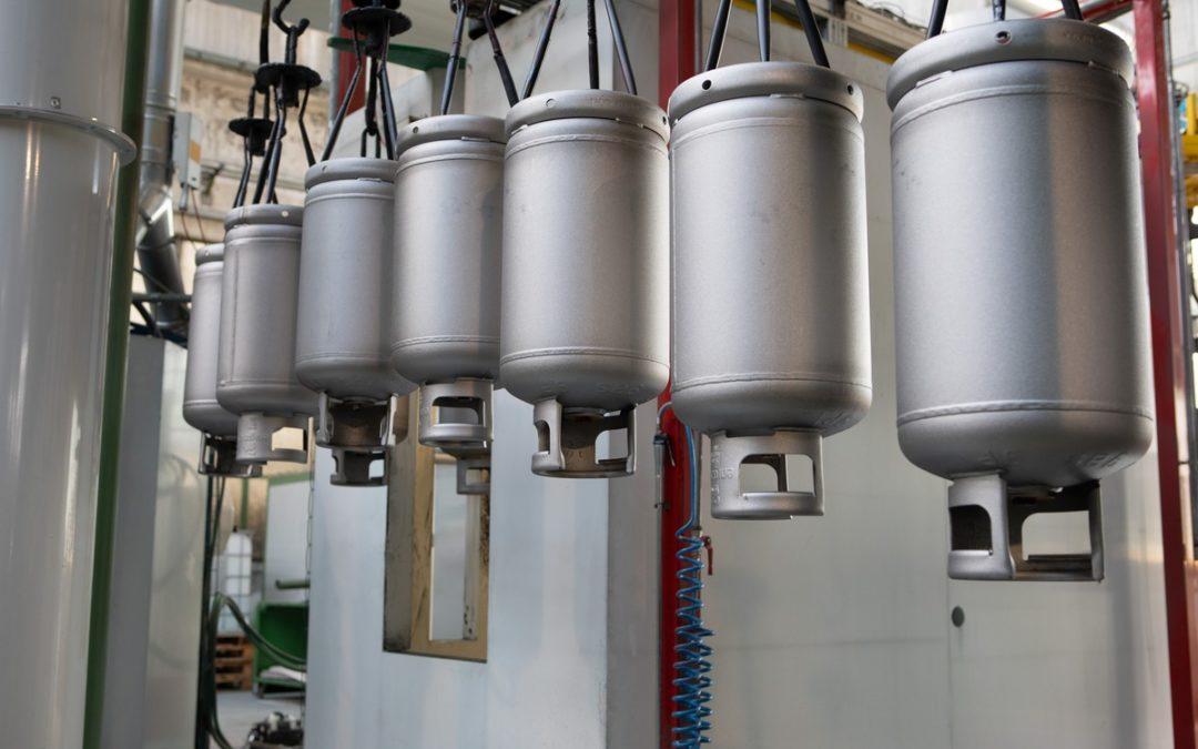 Tipos de tanque de Gas LP para usarlos de manera segura