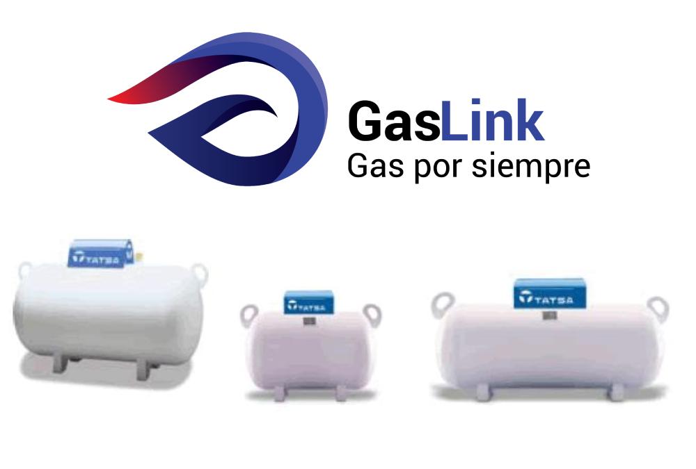 Precio tanque de gas por capacidad y paquete con GasLink