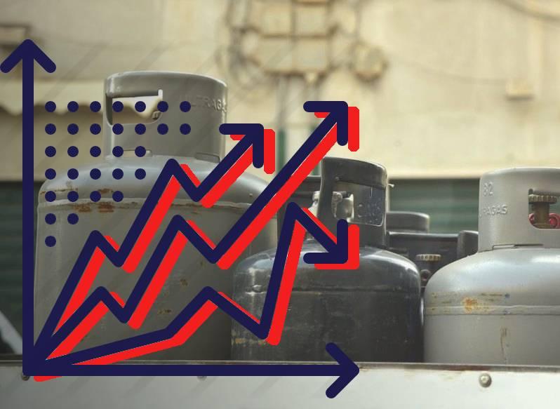 Precio de Gas LP hoy lucha contra la inflación generalizada