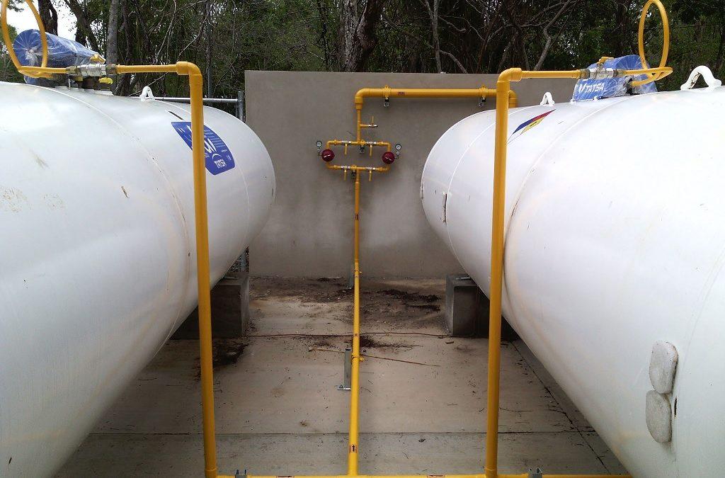Reparacion y mantenimiento de tanques estacionarios