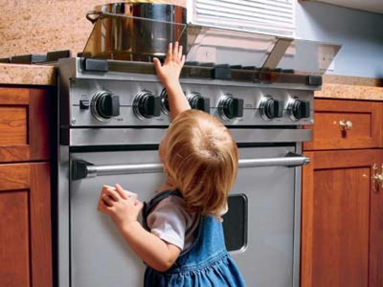 Seguridad en el hogar y dentro de la cocina