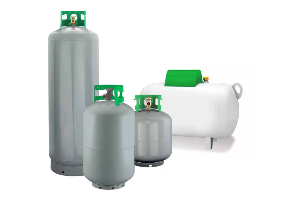 Tipos de tanques de Gas LP para diversos usos